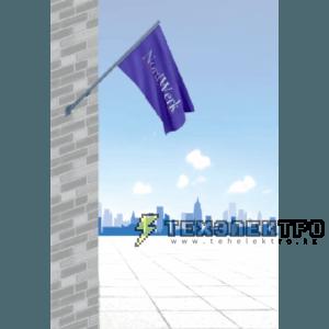 Флагштоки фасадные