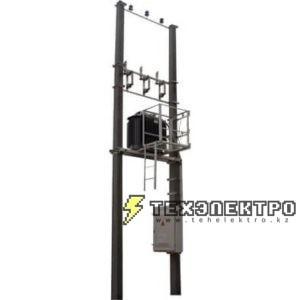 Мачтовые трансформаторные подстанции - столбовые подстанции для электроснабжения небольших объектов